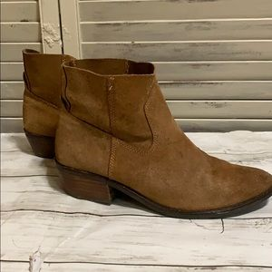 """Dolce Vita Suede Bootie with 1 1/2"""" Heel"""